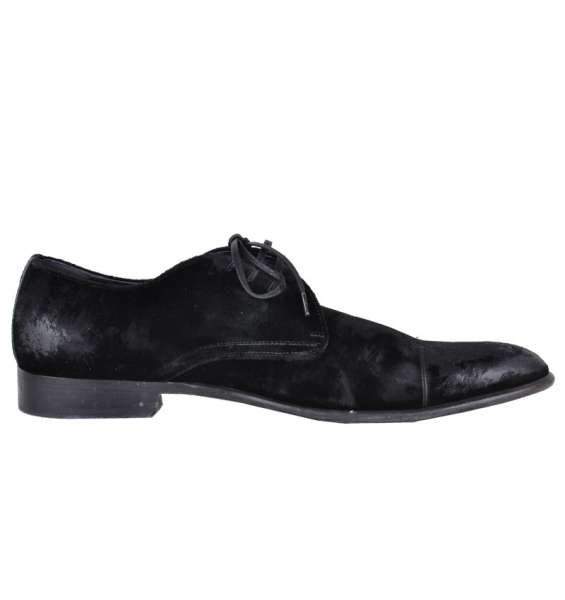VELVET SHOES by DOLCE & GABBANA Black Label