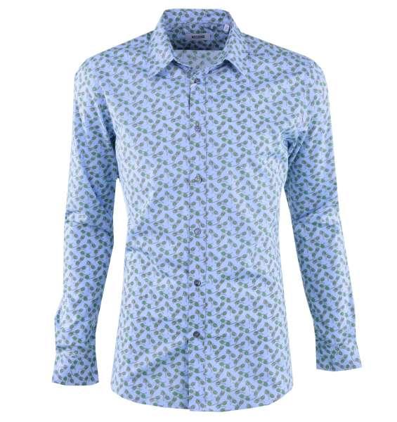 """Hemd mit Print """"Sonnenbrillen"""" von MOSCHINO First Line"""