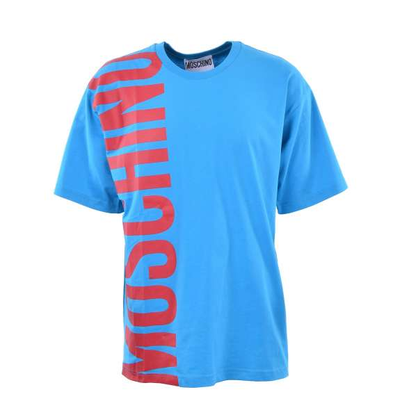 Oversize T-Shirt with a big logo print by MOSCHINO COUTURE
