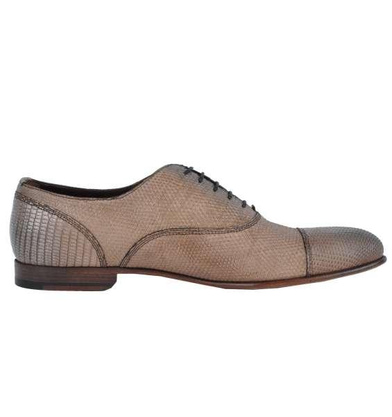 LIZARD Shoes by DOLCE & GABBANA Black Label