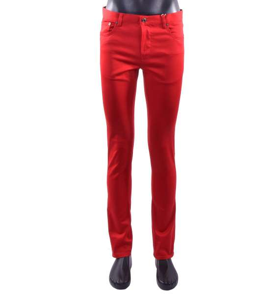 Slim Fit Jeans-Style Trousers for men by MOSCHINO COUTURE