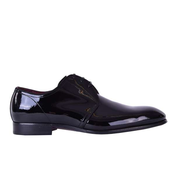 Classic patent leather shoes PORTOFINO made of calfskin by DOLCE & GABBANA Black Label