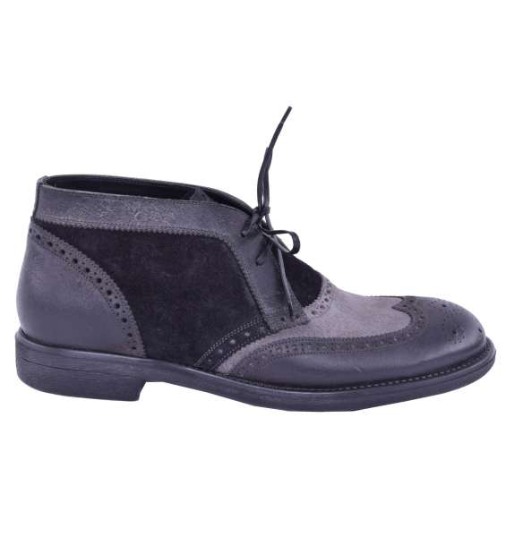 Bicolor Boots by DOLCE & GABBANA Black Label