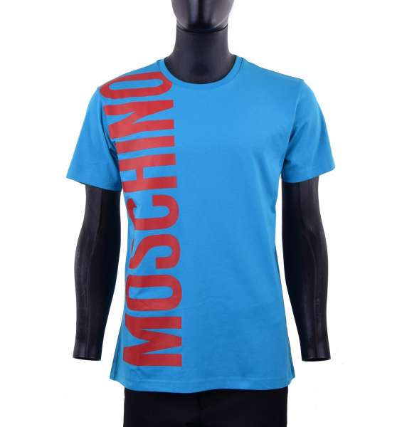 T-Shirt with a big logo print by MOSCHINO COUTURE