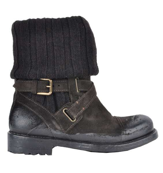 WINTER BOOTS von DOLCE & GABBANA Black Label