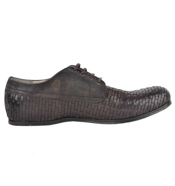 WOVEN SHOES by DOLCE & GABBANA Black Label