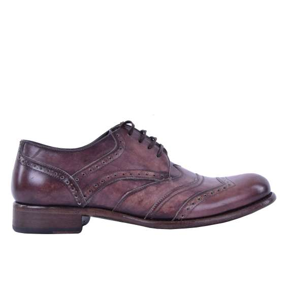 Solid calfskin shoes TAORMINA by DOLCE & GABBANA Black Label