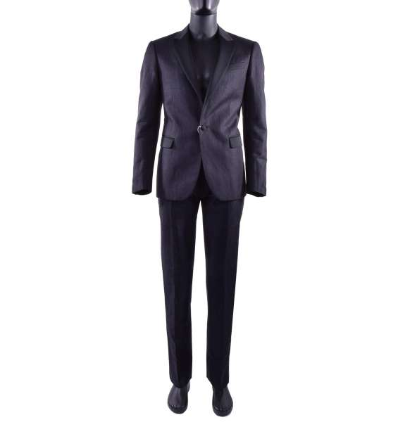 Casual Denim-Style Suit for men made of linen and cotton by MOSCHINO First Line