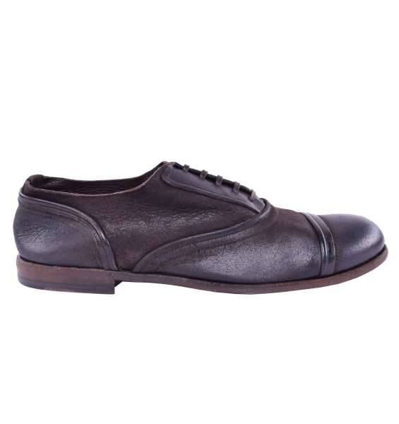 Suede Shoes by DOLCE & GABBANA Black Label