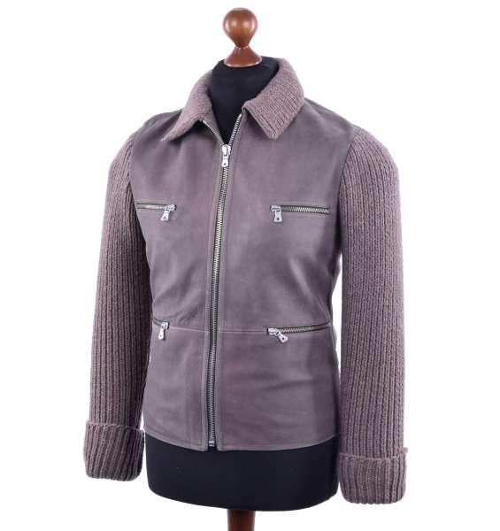 Leather Jacket by DOLCE & GABBANA Black Line