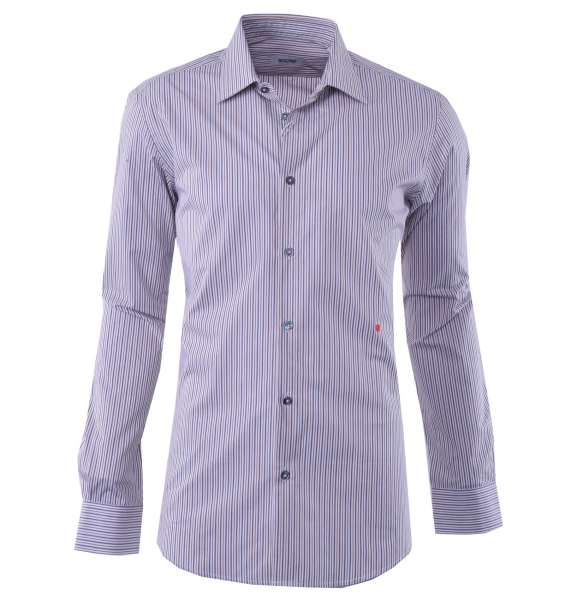 Striped Cotton Business Shirt by MOSCHINO First Line