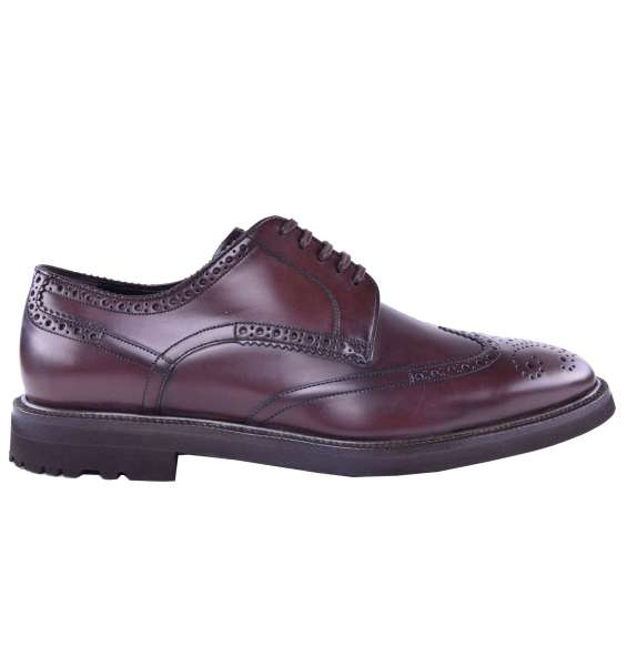 Solid Business Shoes by DOLCE & GABBANA Black Label