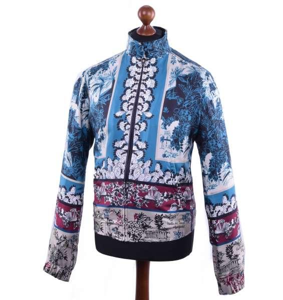 Jacke aus Seide von DOLCE & GABBANA Black Label
