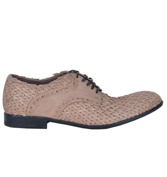 WOVEN SHOES by DOLCE & GABBANA Black Label - SICILIA Collection