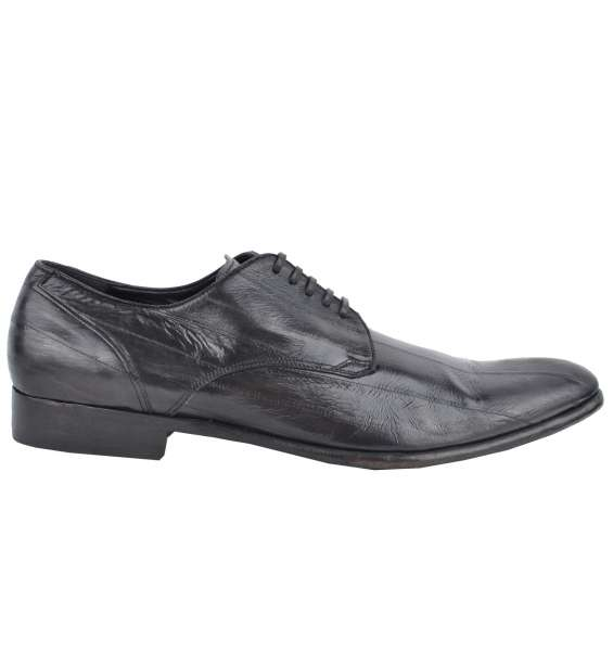 BUSINESS EEL SHOES by DOLCE & GABBANA Black Label